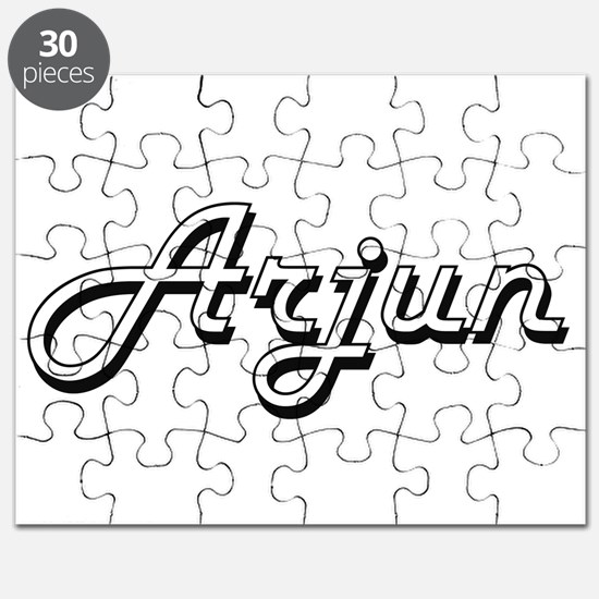 Arjun Classic Style Name Puzzle