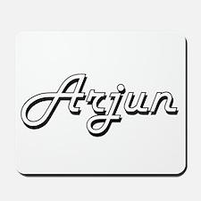 Arjun Classic Style Name Mousepad