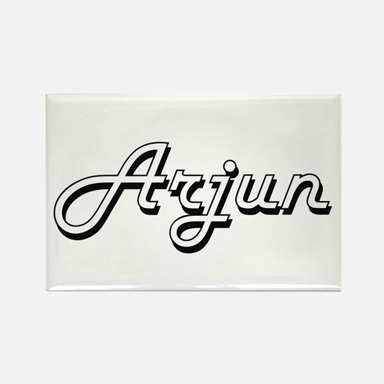 Arjun Classic Style Name Magnets