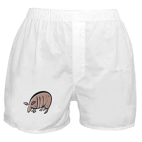 Silly Armadillo Boxer Shorts