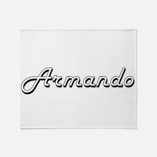 Armando Classic Style Name Throw Blanket