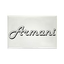Armani Classic Style Name Magnets