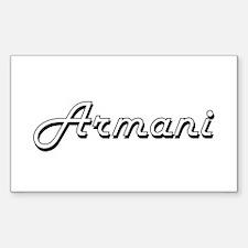 Armani Classic Style Name Decal