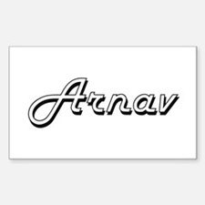 Arnav Classic Style Name Decal