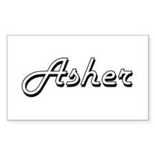Asher Classic Style Name Decal