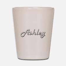 Ashley Classic Style Name Shot Glass