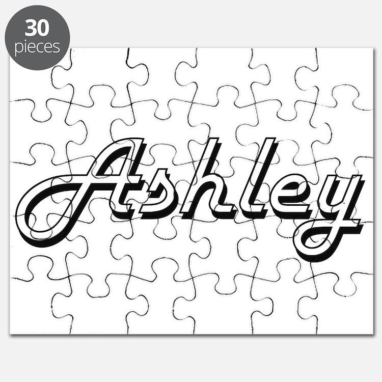 Ashley Classic Style Name Puzzle