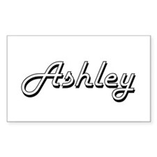 Ashley Classic Style Name Bumper Stickers
