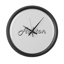 Ashton Classic Style Name Large Wall Clock