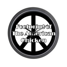The American Chicken Wall Clock