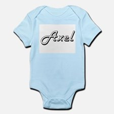 Axel Classic Style Name Body Suit