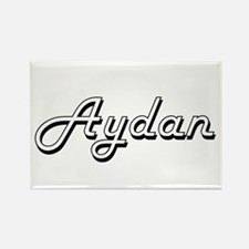 Aydan Classic Style Name Magnets