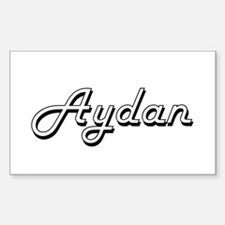 Aydan Classic Style Name Decal