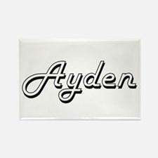 Ayden Classic Style Name Magnets