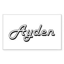 Ayden Classic Style Name Decal