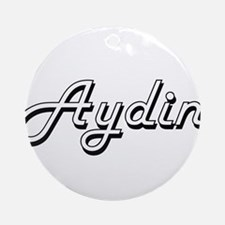 Aydin Classic Style Name Ornament (Round)