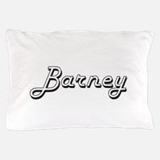 Barney Classic Style Name Pillow Case