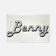Benny Classic Style Name Magnets