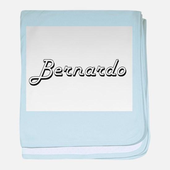 Bernardo Classic Style Name baby blanket