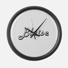 Blaise Classic Style Name Large Wall Clock
