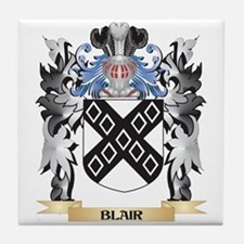 Blair Coat of Arms - Family Crest Tile Coaster