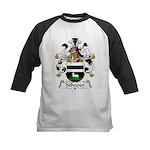 Schaper Family Crest Kids Baseball Jersey