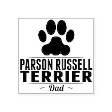 Parson Russell Terrier Dad Sticker