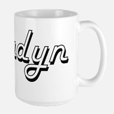 Bradyn Classic Style Name Mugs