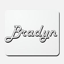 Bradyn Classic Style Name Mousepad