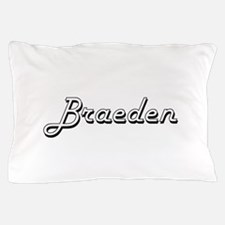 Braeden Classic Style Name Pillow Case