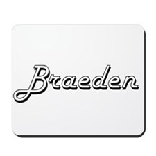 Braeden Classic Style Name Mousepad