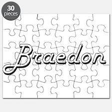 Braedon Classic Style Name Puzzle