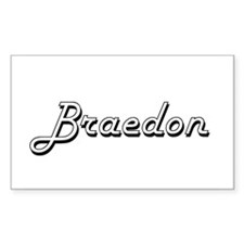 Braedon Classic Style Name Decal