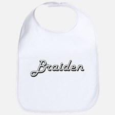 Braiden Classic Style Name Bib