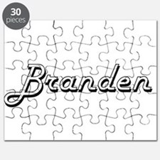 Branden Classic Style Name Puzzle