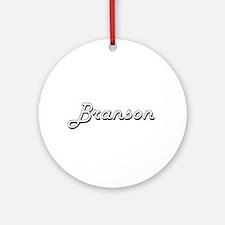 Branson Classic Style Name Ornament (Round)