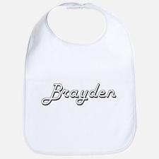Brayden Classic Style Name Bib