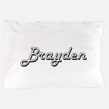 Brayden Classic Style Name Pillow Case
