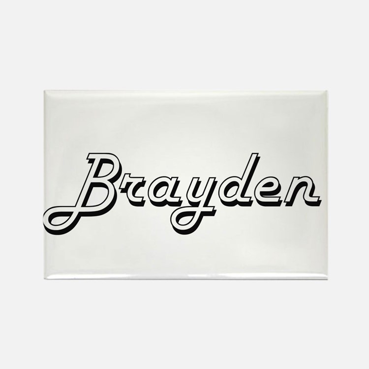 Brayden Classic Style Name Magnets