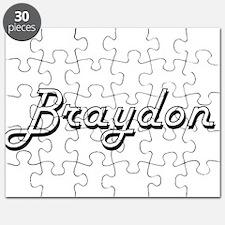 Braydon Classic Style Name Puzzle