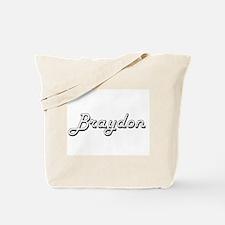 Braydon Classic Style Name Tote Bag