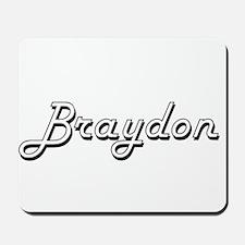 Braydon Classic Style Name Mousepad