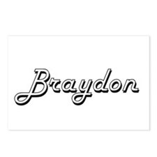 Braydon Classic Style Nam Postcards (Package of 8)