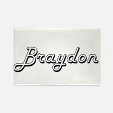 Braydon Classic Style Name Magnets