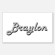 Braylon Classic Style Name Decal