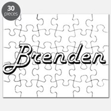 Brenden Classic Style Name Puzzle