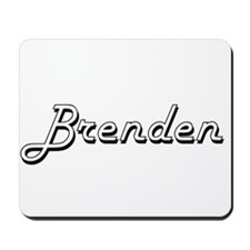 Brenden Classic Style Name Mousepad
