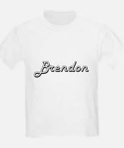 Brendon Classic Style Name T-Shirt