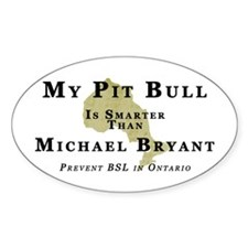 Anti-BSL In Ontario Decal