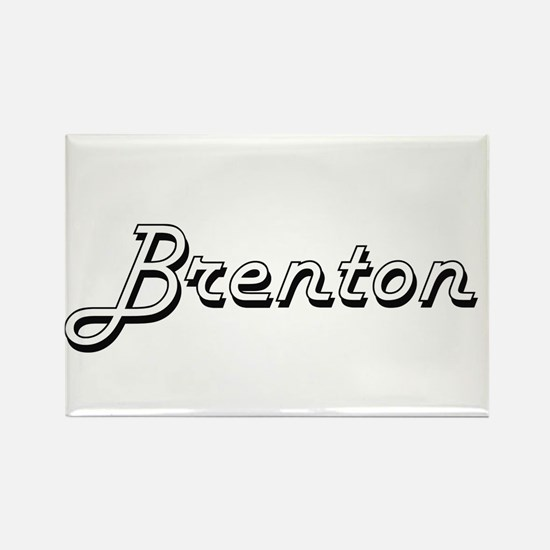 Brenton Classic Style Name Magnets